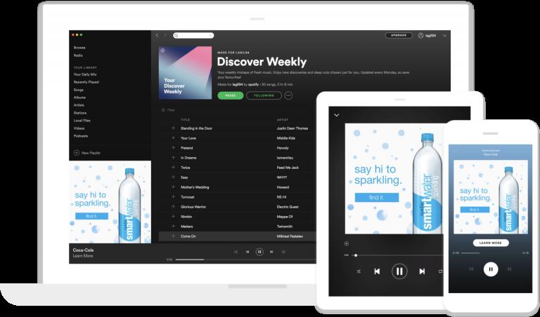 Spotify Banner einbinden